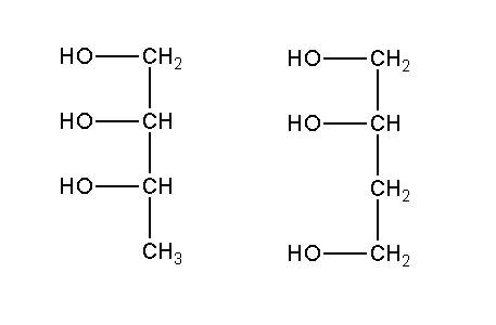 Дать название веществу: если это , то это трёхатомный спирт