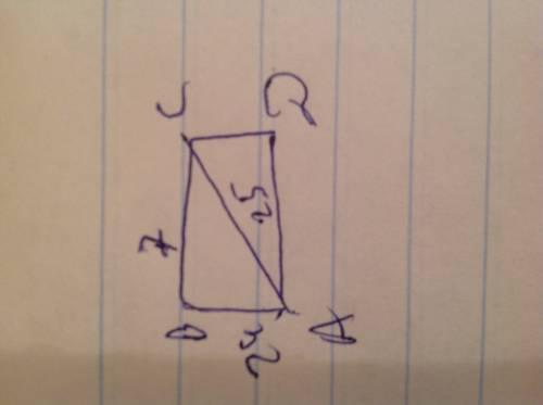 Впрямоугольнике abcd ав = 24 см, ас = 25 см. найдите площадь прямоугольника.