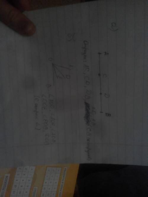 А.на отрезке ав отметьте точки с и d.сколько отрезков получилось? б.постройте острый угол аов.провед
