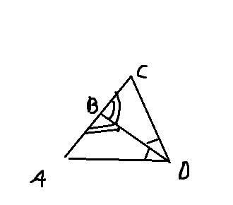 1. углы abd и dвс равны dв — биссектриса угла adc. докажите ра- венство треугольников dab и dcb. 2.