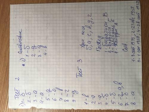 решить (заранее ) тест 2. в 20–30-е гг. был образован 30 декабря ……. года, когда в его состав вошли