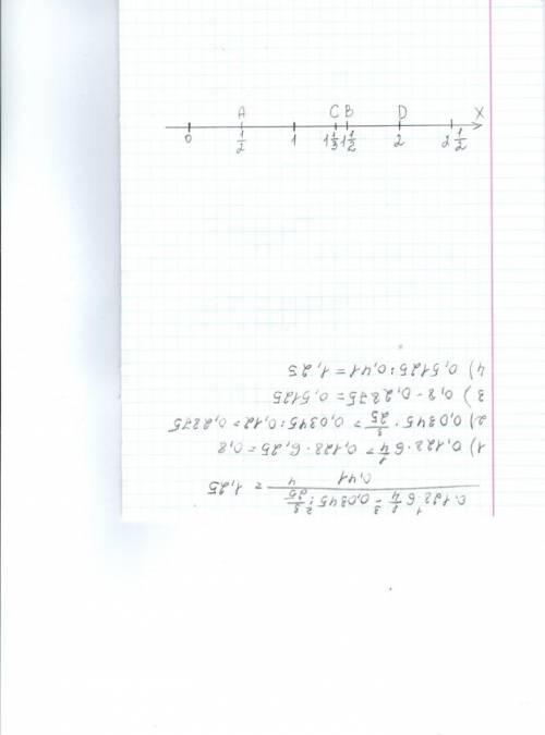 Начертите координатный луч с единичным отрезком длиной 10 см. отметьте на нём числа: 1/2 ; 1/10; 1/5