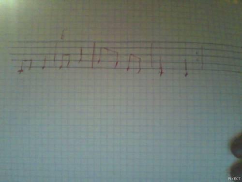 Записать песнью в инструментальной группировке