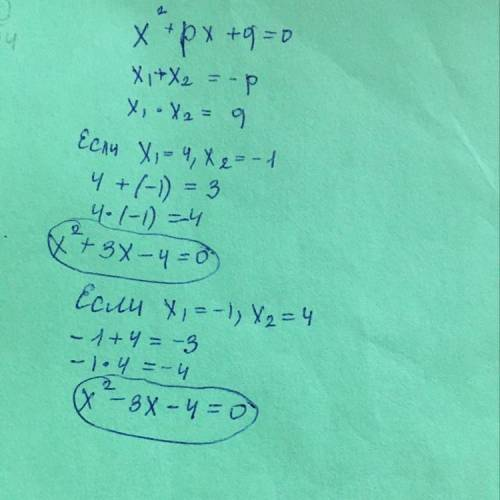 Создайте квадратные уравнения с корня -1 .4