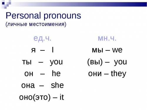 Read these words and write personal pronouns instead of them Example 0.ballon— Answer 0. it; 1.siste