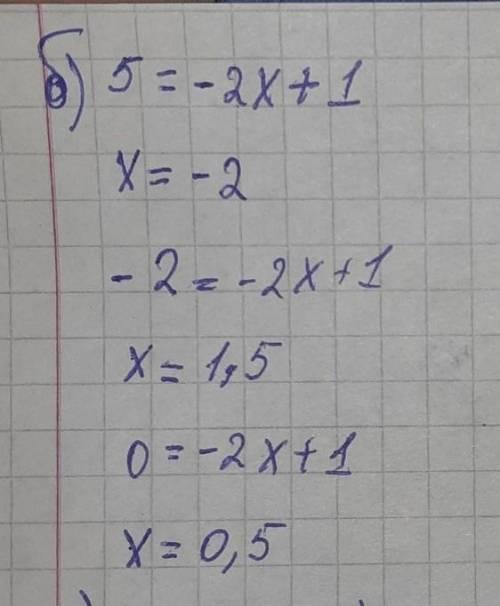 Нужна ваша Постройте график функции y = −2x + 1. Найдите: а) Значение функции, если значение аргумен