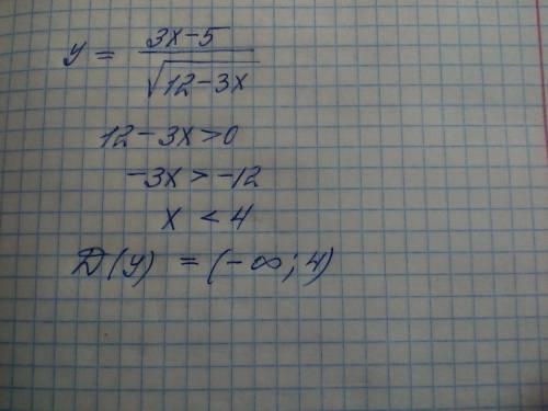 Знайдіть область визначення функції  /