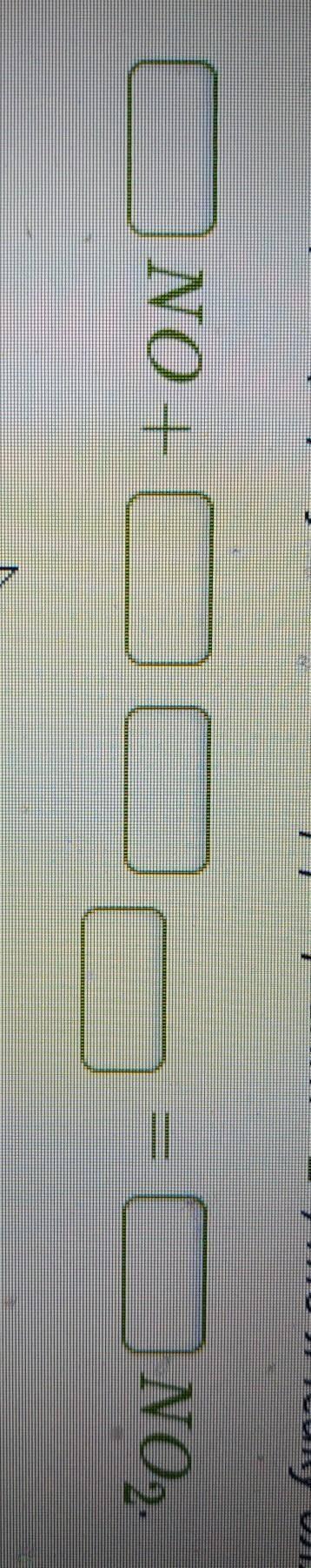 Допиши уравнение реакции. Расставь коэффициенты.Если перед формулой — коэффициент «1», то ячейку для