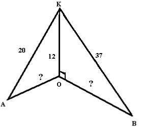 Задание по геометрии Найдите КО и ВО