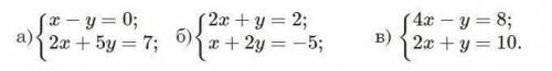 Розв'яжіть графічно систему рівнянь