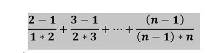 Даны n натуральных чисел. Вычислить сумму ряда. n вводится с клавиатуры. c#' Если можно с объяснение