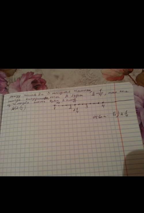10.На рисунке изображена часть координатного луча. Ка-кую координату имеет точка D?D46ответ: