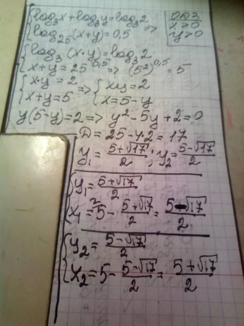 Решите систему уравнений. преобразуйте каждое из ур-ний, а затем решите систему методом подстановки