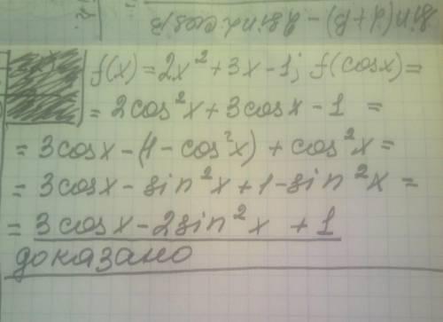 известно, что f (x)...