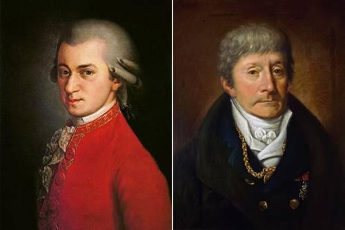 Портрет моцарта и сальери